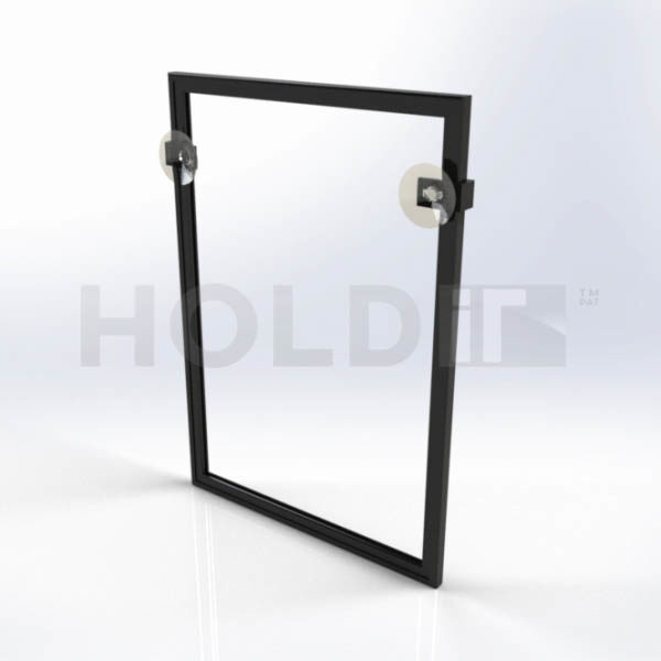 Lps A4 Sc - A4 Frame with Sleeve and Suction Cups with Clips